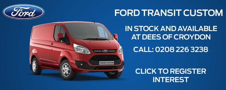 Ford Transit Custom in Stock