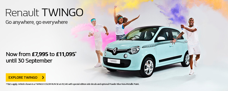 New Renault Twingo Offer