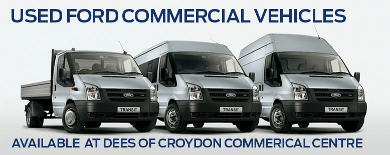 Used Ford Commercial Vehicles