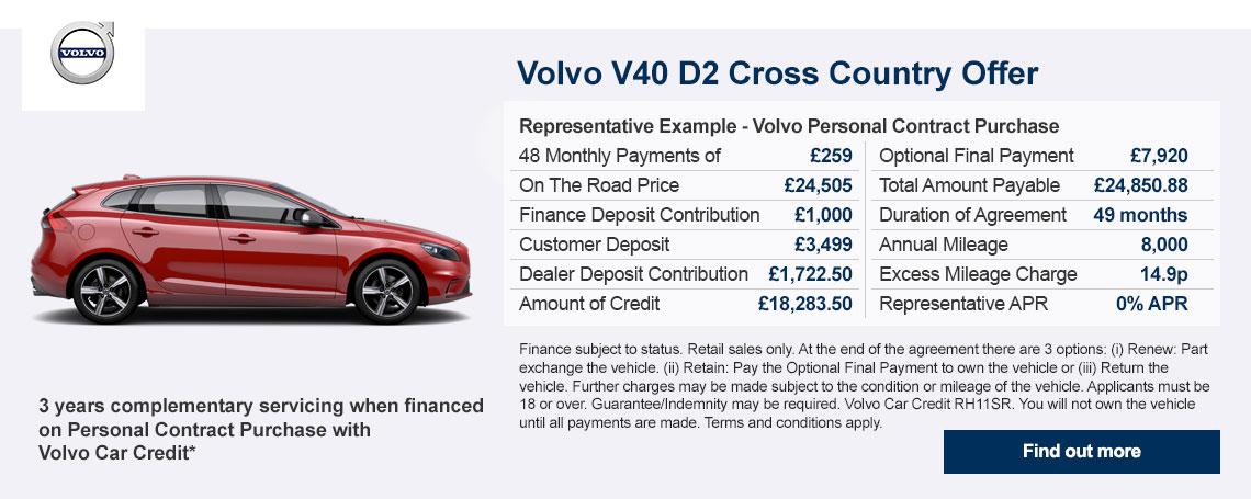 Volvo V40 PCH