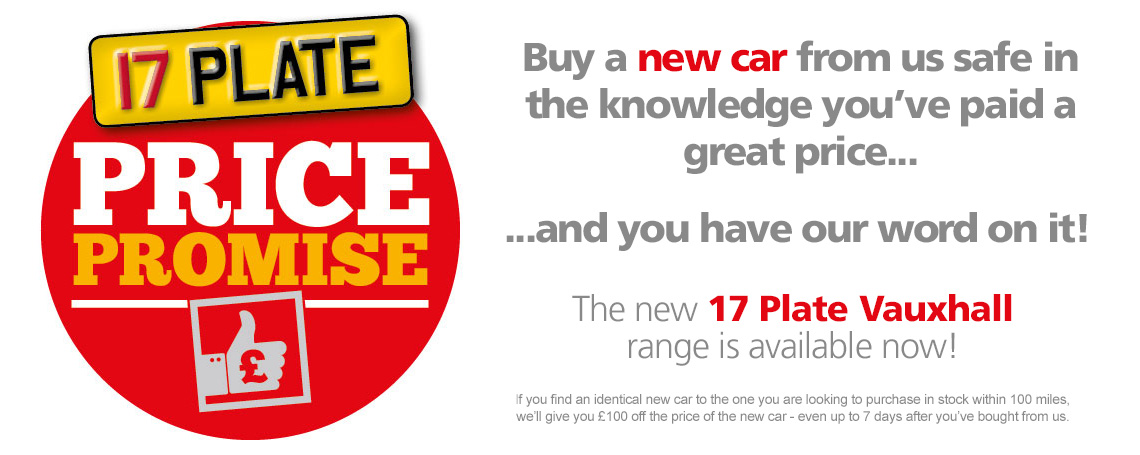 New Vauxhall Price Promise