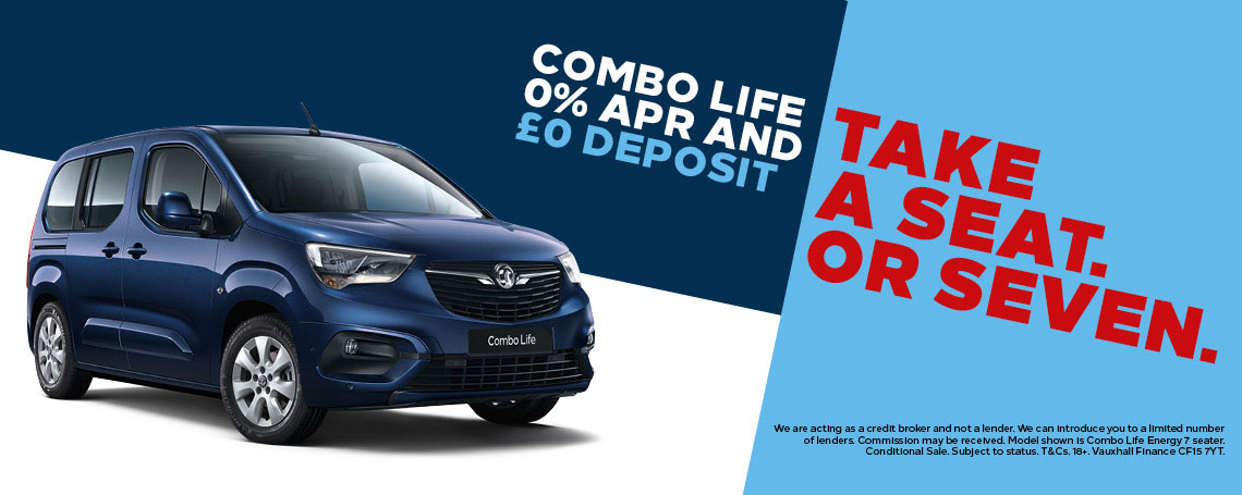 Vauxhall Combo Life Offers