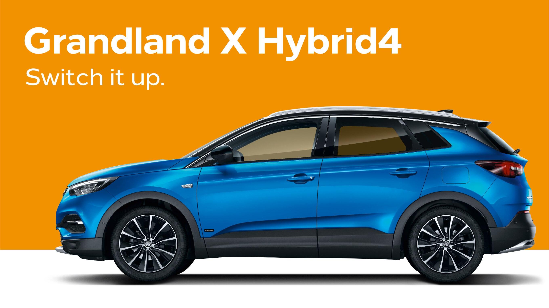 Vauxhall grandland-x hybrid