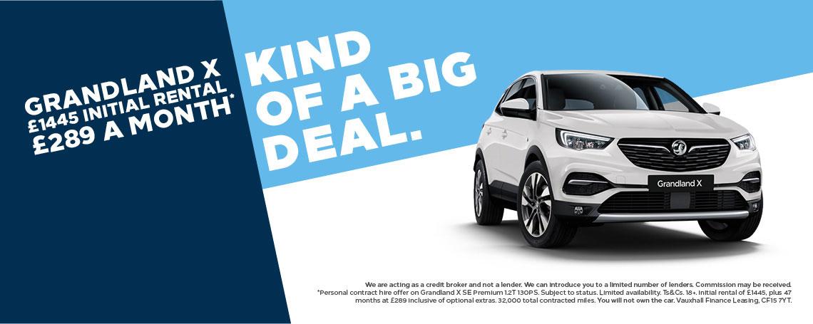 Vauxhall Grandland X PCH Offer