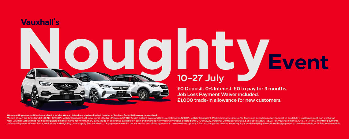 Vauxhall Noughty Event 10-27 July