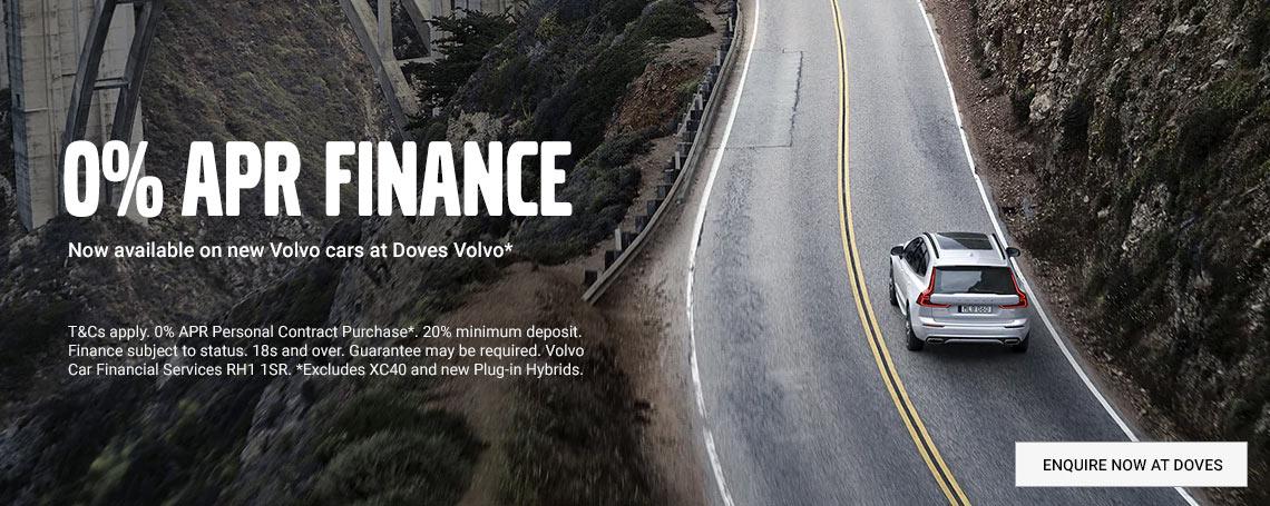 New Volvo Car Finance Offer