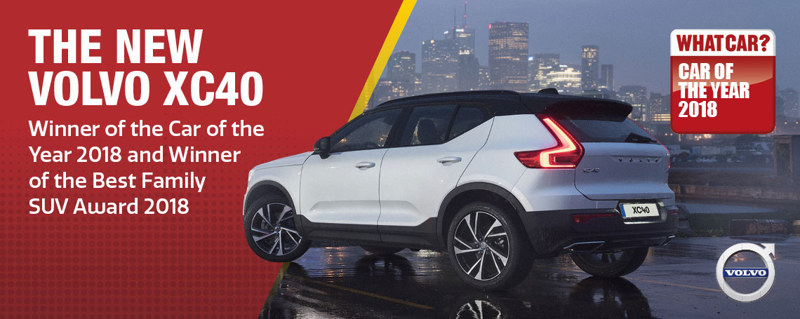 Volvo XC40 Whatcar Award