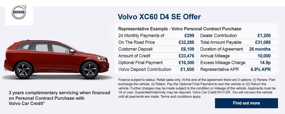New Volvo XC60 Offer