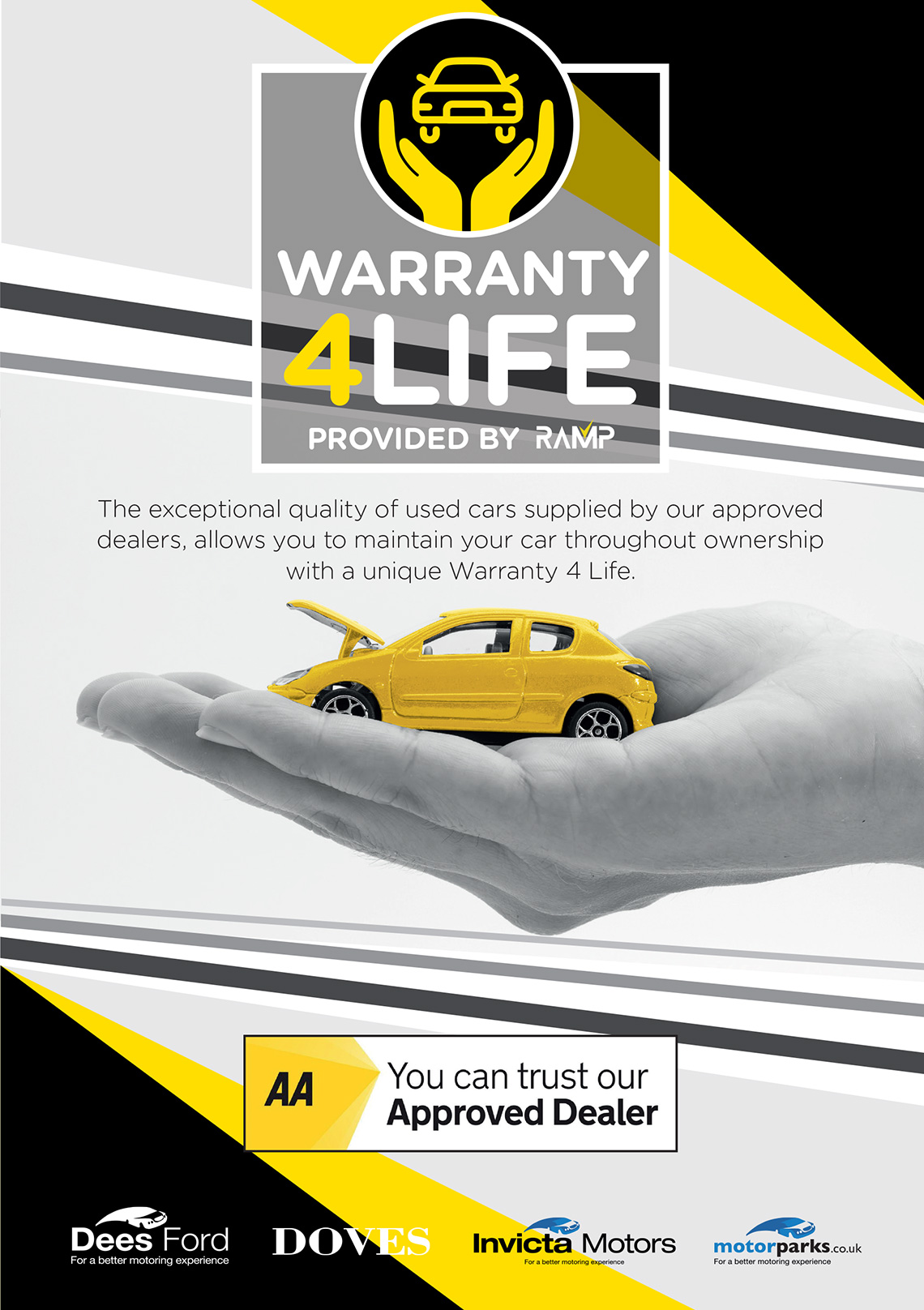 Warranty 4 Life at Motorparks Car Dealers