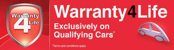 Mazda 6 Tourer and Saloon warranty4life