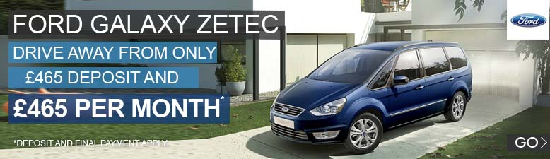 Ford Galaxy Zetec