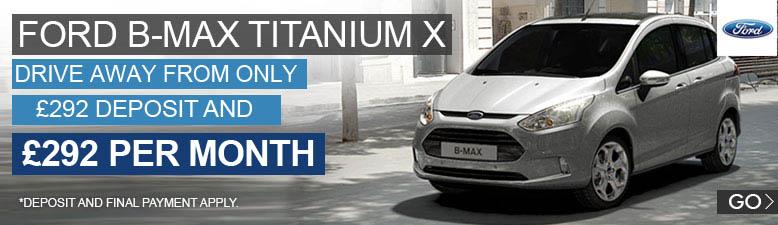 Ford B-Max Titanium X