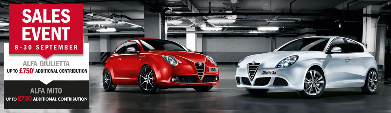 ALFA ROMEO SALES EVENT