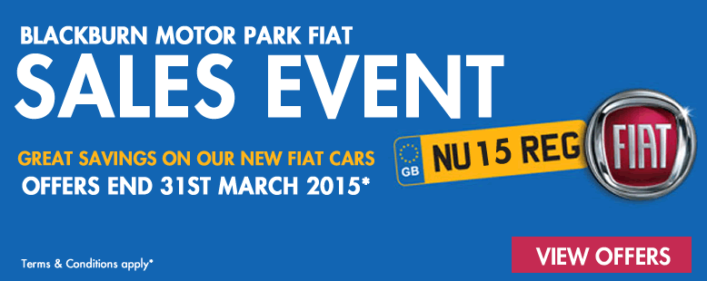 64 Plate Fiat Offers