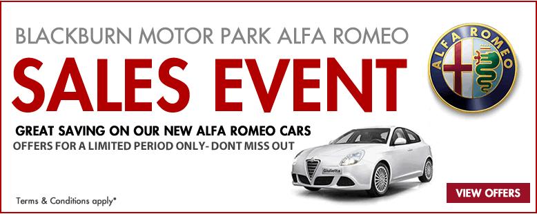 Alfa romeo SALE EVENT