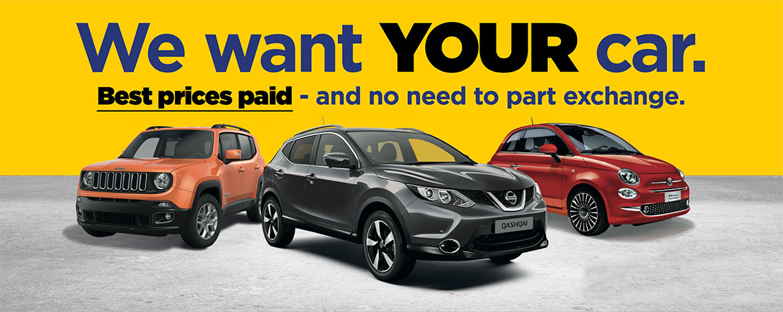 We Buy Your Car | Warrington Motors