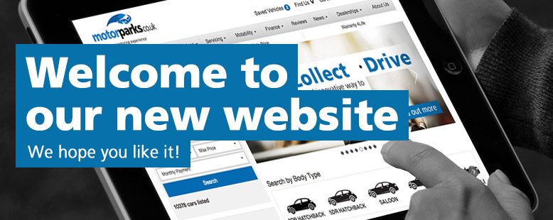 Welcome to our new Motorparks website