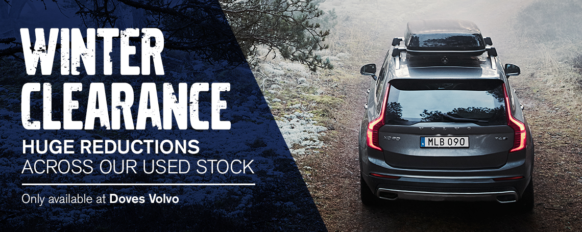 Doves Volvo Winter Clearance