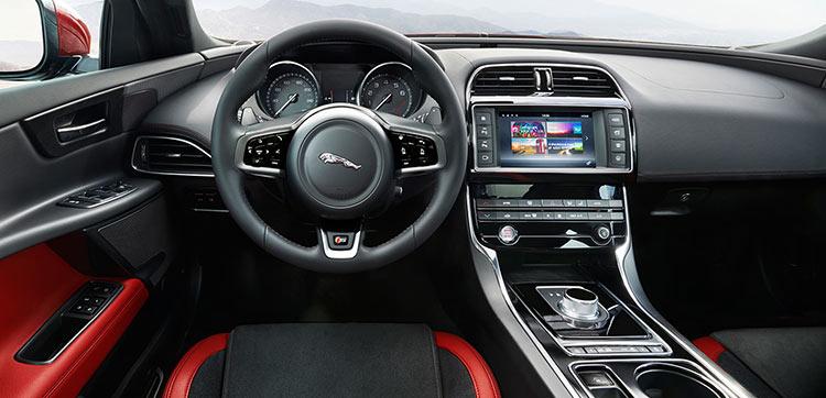 The New Jaguar XE Interior Cabin