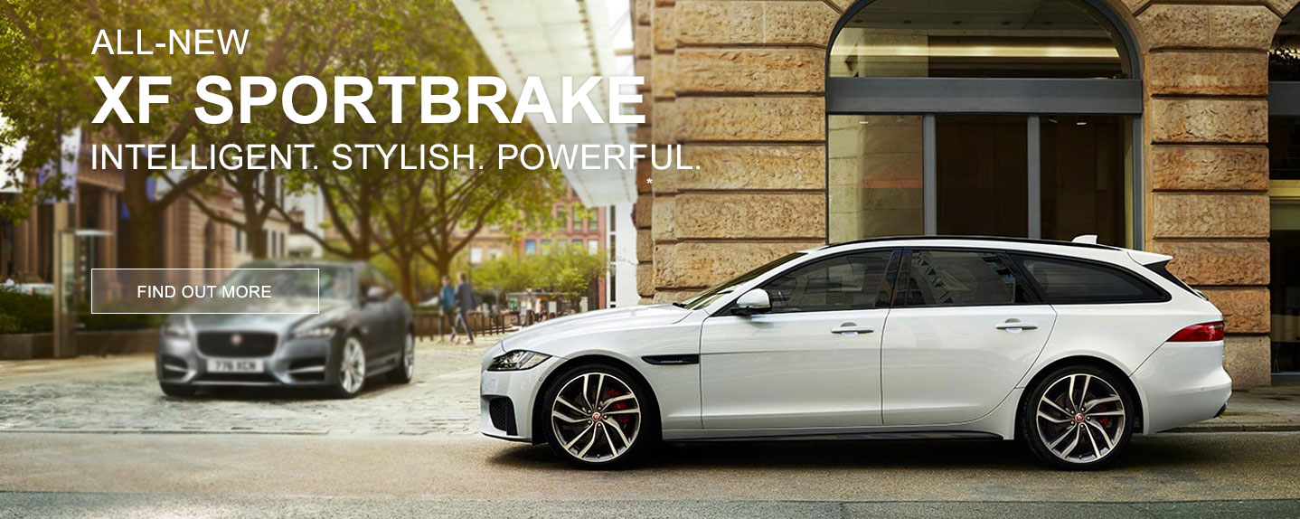 NEW Jaguar XF Sportbrake - Order Now