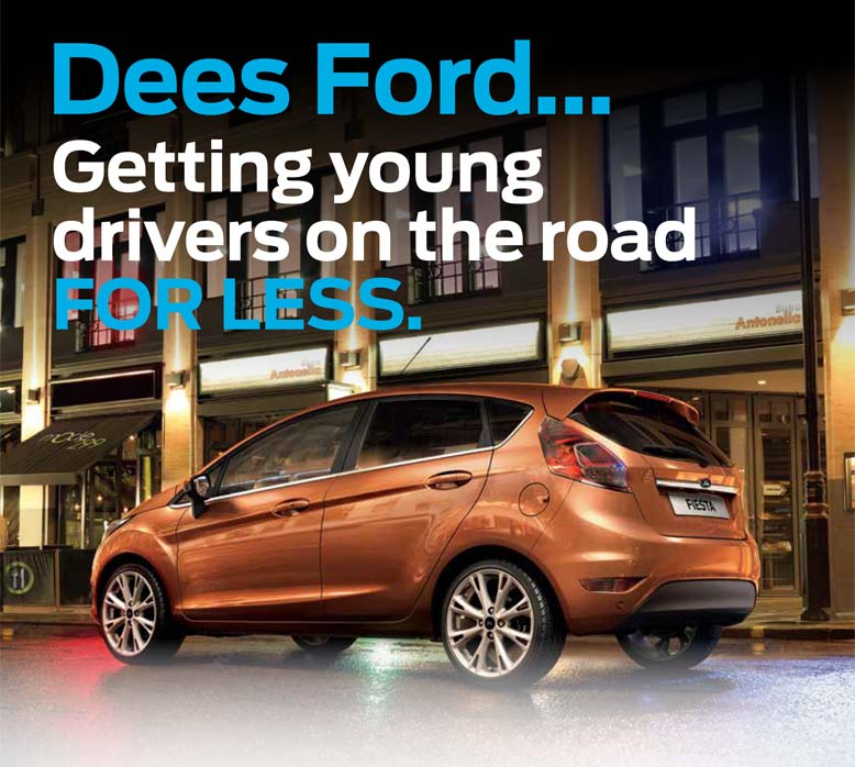 Dees Ford Young Drivers Insurance Scheme Motorparks